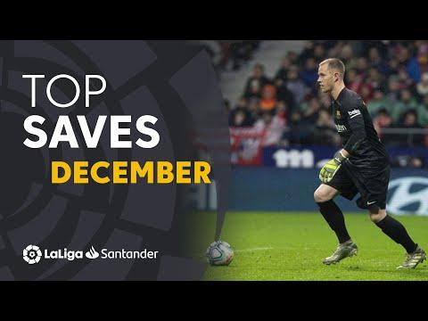 TOP Paradas Diciembre LaLiga Santander 2019/2020