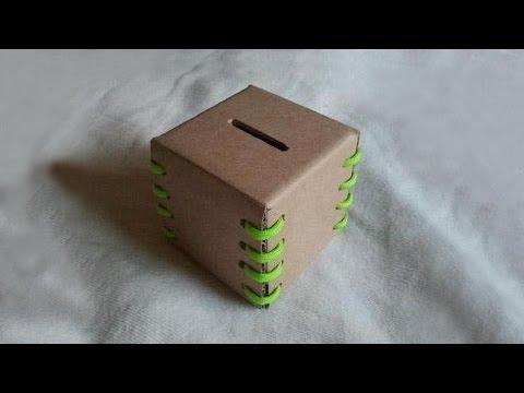DIY - Making of Money Bank Simple Steps
