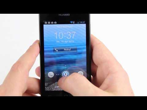 Review: Huawei Ascend Y300 - sehr günstiges und billiges Android Smartphone im Test (deutsch)