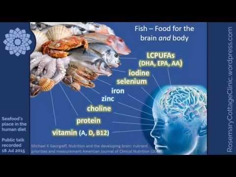 Seafood  PART 2 -  nutrients, contaminants & sustainability