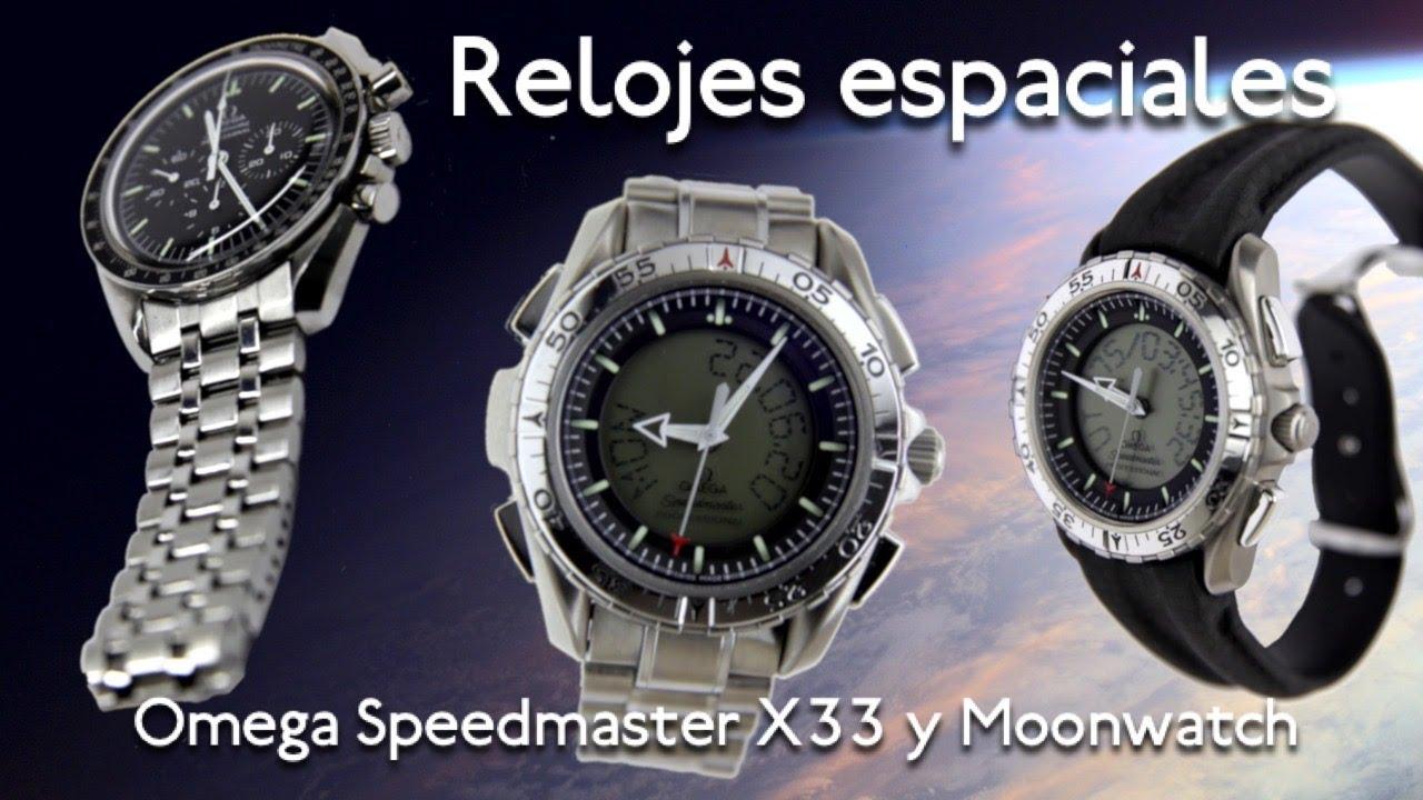 """¡Relojes en el espacio! Presentamos dos versiones del Omega Speedmaster X33 y el clásico """"Moonwatch"""""""