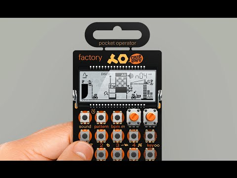 Teenage Engineering PO-16 Factory Features