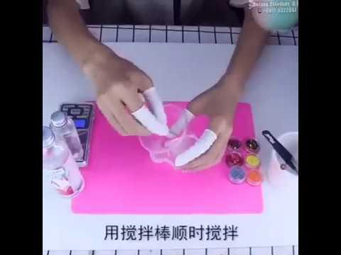 Epoxy Resin-Hard Soft-Glue Clear-3D Embed-Epoxy Resin Gel AB-Gummy Soft Silicone-DIY Art Craft