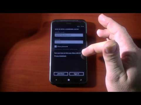 Hard Reset Windows Phone and Restore apps with Reinstaller (HTC Titan Hard Reset)