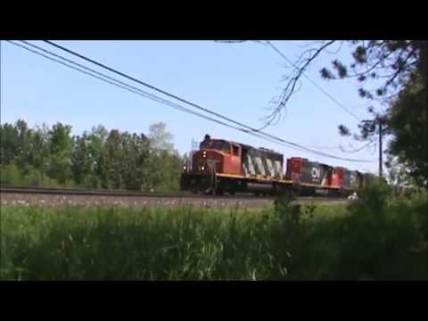 Railfanning the Twin Ports Area June 30, 2013-July 1st, 2013