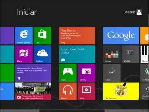 Como instalar Aplicativos no Windows 8