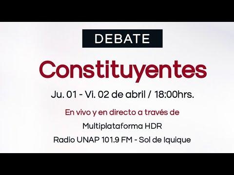 Debate de Constituyentes por Tarapacá Soy Candidato.cl