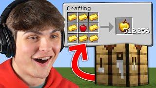 Minecraft, But Crafting Iṡ Multiplied...