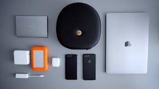 What's in my tech backpack (everyday carry/minimal 2017)