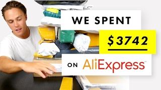 We Spent $3742 on an AliExpress Haul!