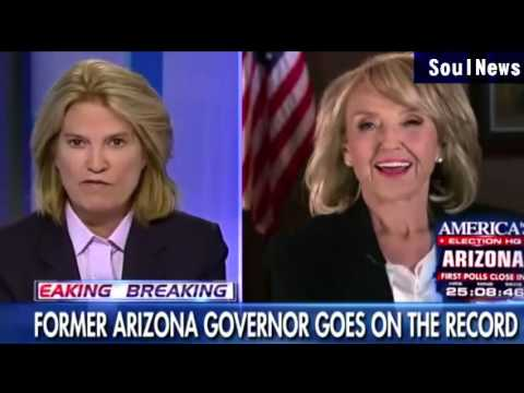 Former Gov. Brewer: Paid thugs disrupt Trump rallies