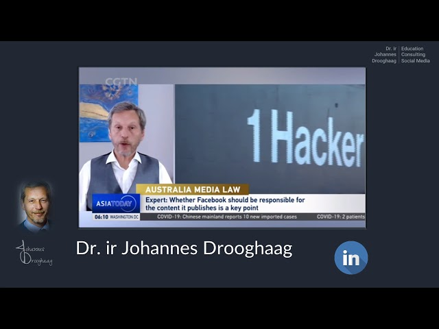 Dr. ir Johannes Drooghaag - Analyst Asia Today - Facebook refriended Australia