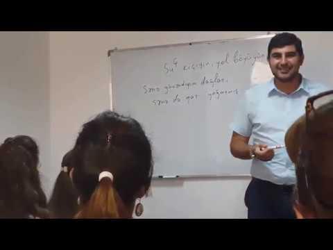 Vüqar müəllimin seminarından görüntülər. Caspian Plaza. BPA. 23.09.2018.
