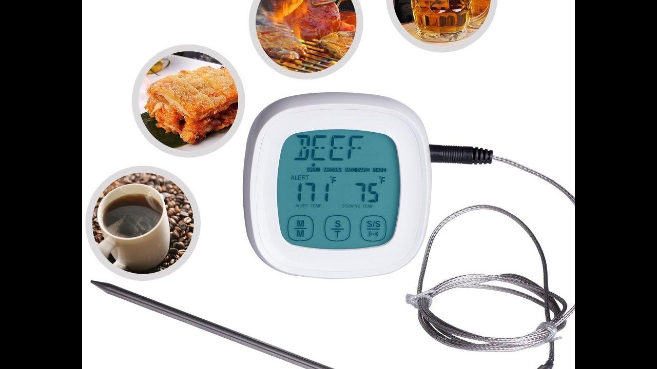 Recensione ITA ZeWoo® Digitale Termometro da Cucina Schermo Touch ...