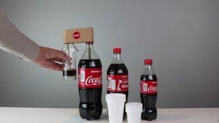 How to Make Coca Cola Soda  Fountain Machine