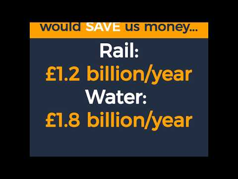 Public ownership would save us money