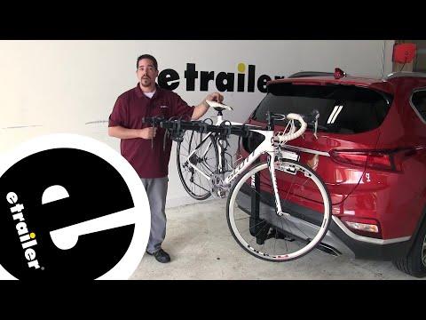 Etrailer | Thule Camber 4 Bike Rack Review - 2019 Hyundai Santa Fe