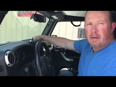 Jeep Wrangler Instrument Cluster Removal Procedure