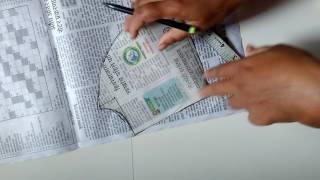 मराठीमध्ये कटोरी ब्लाऊज कट करायला शिका Making Katori Blouse in Marathi
