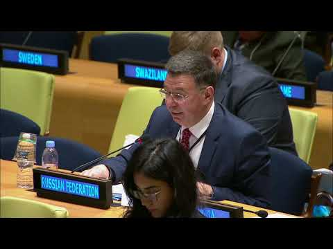 A.Pankin, Deputy Foreign Minister of Russia, at the ECOSOC Forum on Financing for Development