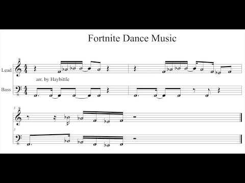 Fortnite Sheet Music