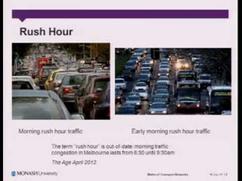 Public Lecture - Cheap Solutions to The Transport Problem