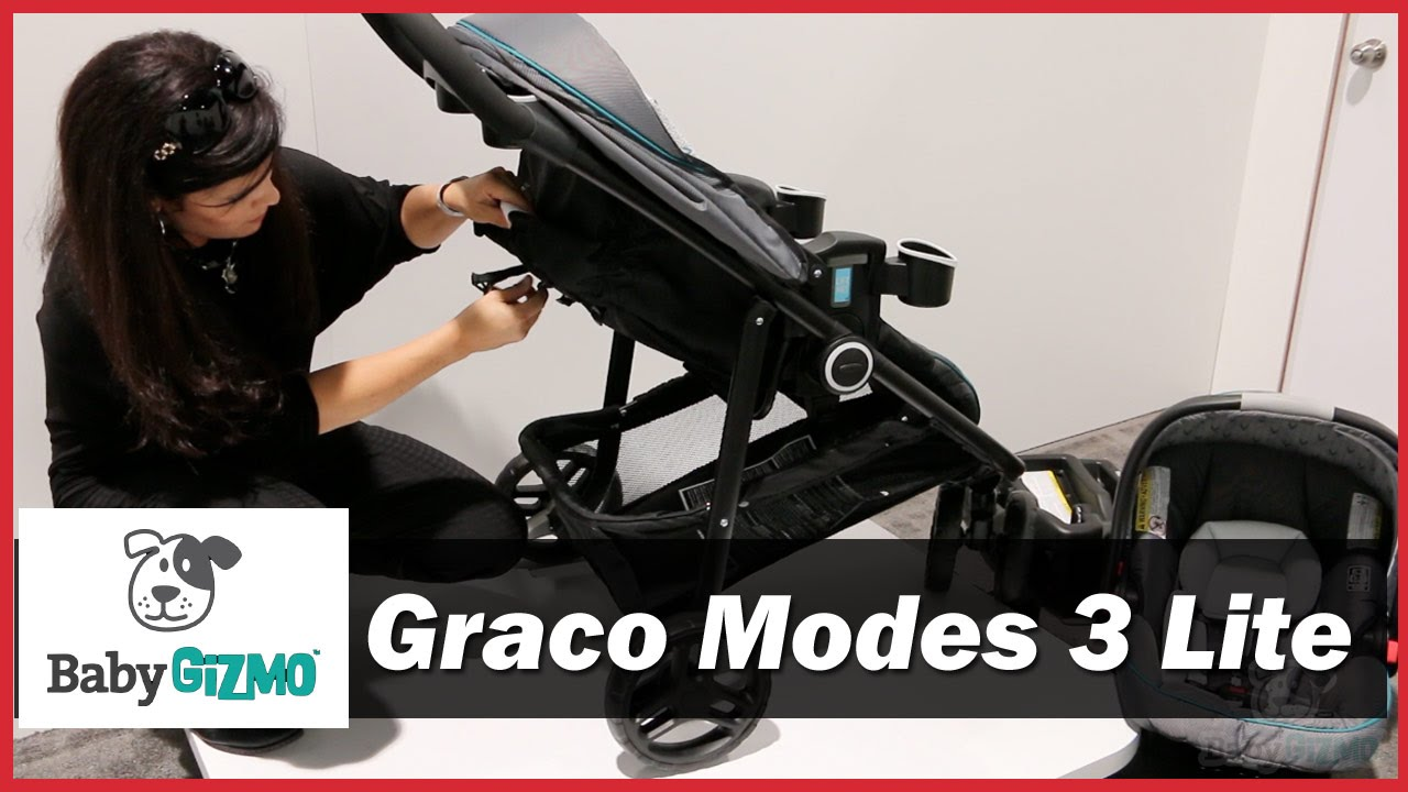 Graco Modes 3 Lite Click Connect Stroller Demo By Baby