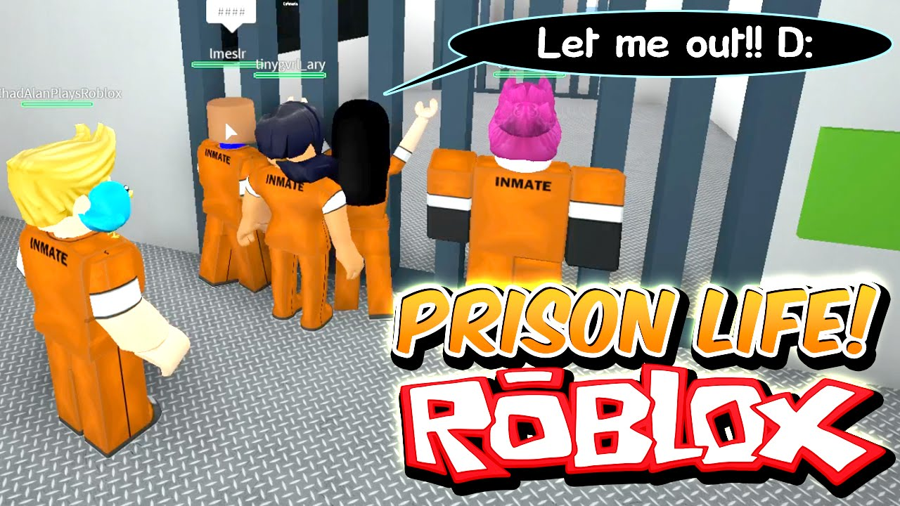 Prison Life With Gamer Chad I Only Stole A Heart Let Me Out Prison Escape Roblox Roleplay Youtube