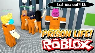 Prison Life with Gamer Chad - I only stole a HEART!! Let me out!! Prison Escape! - Roblox Roleplay