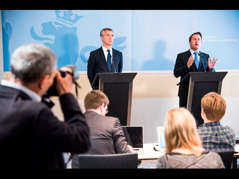 NATO Secretary General - Joint press point with Prime Minister Luxembourg, 2 SEP 2015