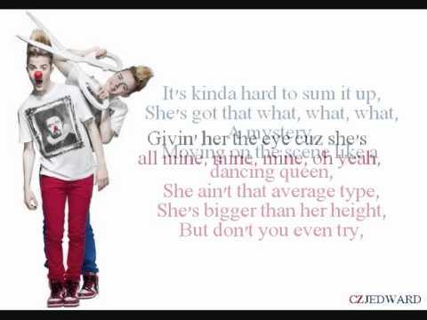Jedward - Everyday Superstar (Lyrics)