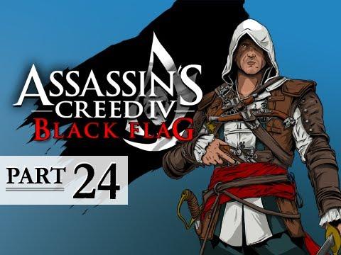 Assassin's Creed 4 Black Flag Walkthrough Part 24 - Cape Bonavista 100% Sync AC4