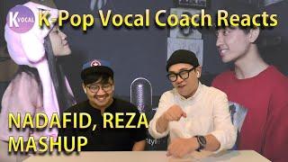 Download lagu K-pop Vocal Coach reacts to Reza Darmawangsa mashups