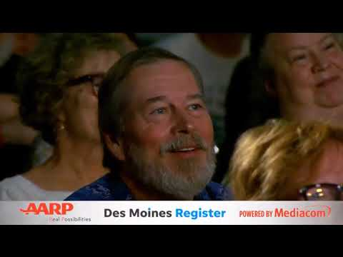 Andrew Yang at the AARP Forum, Des Moines IA (July 19, 2019)