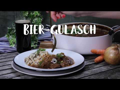 Bier-Gulasch - so zart & kräftig
