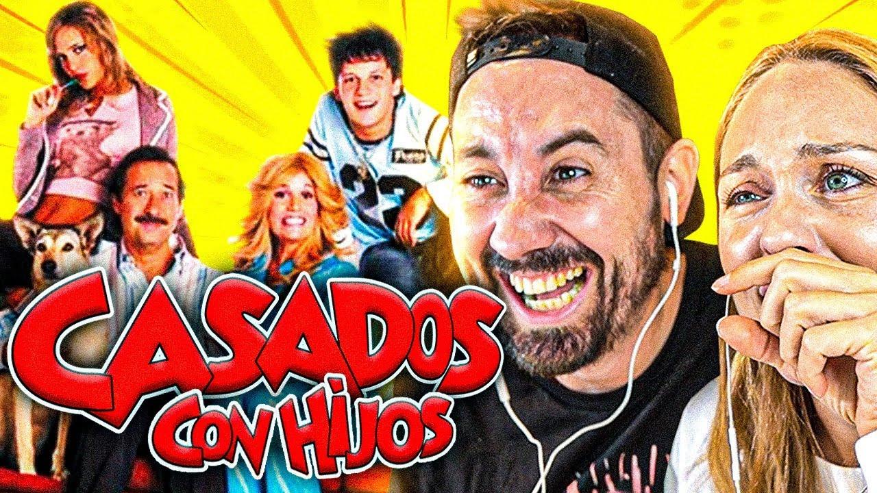 ESPAÑOLES REACCIONAN a lo MEJOR de CASADOS CON HIJOS 😂 *EPICO*