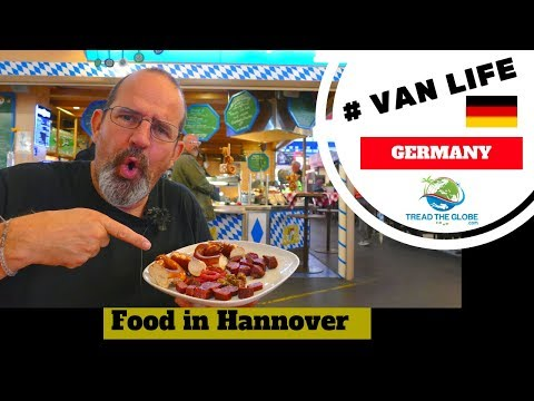 Sampling German Foods & exploring Hannover