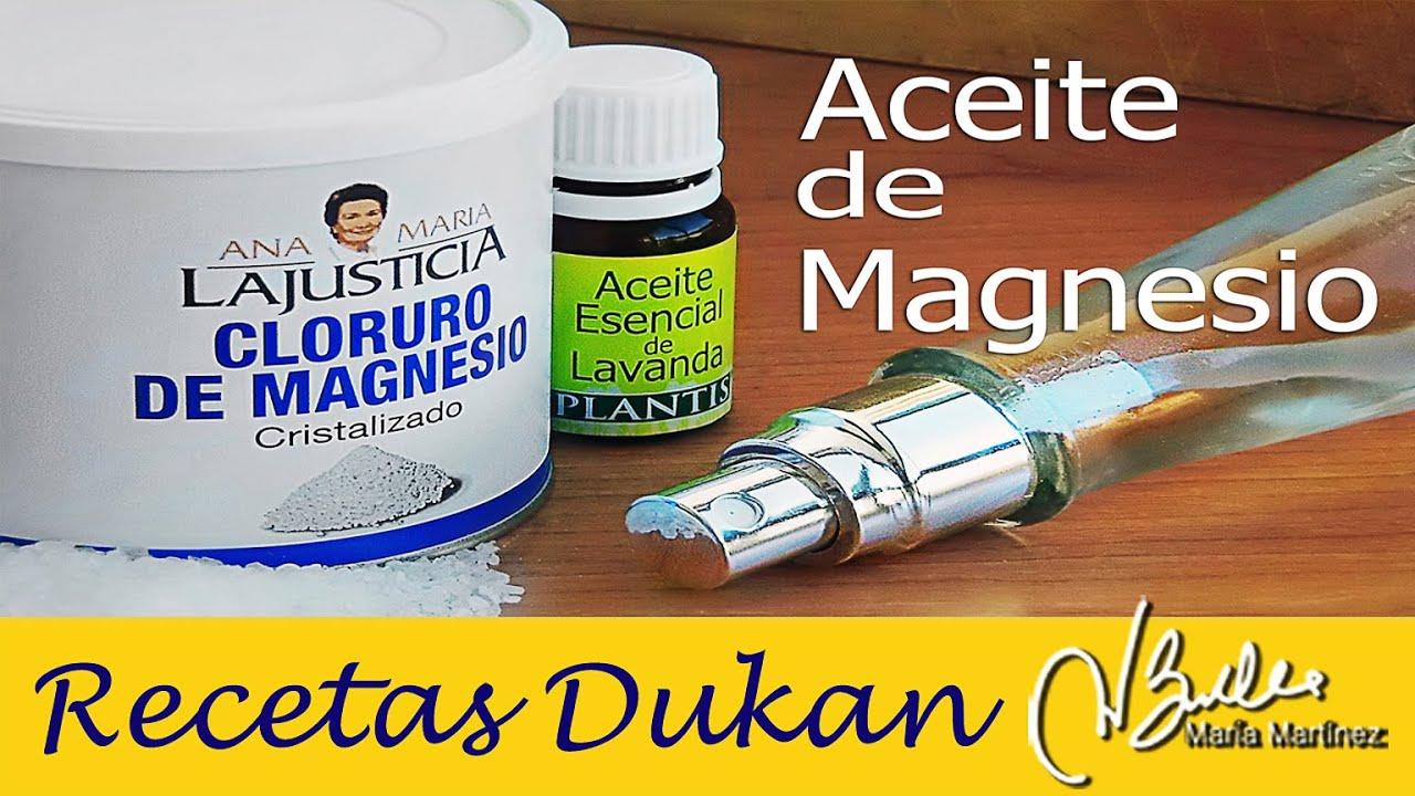 Sales de magnesio para adelgazar