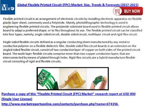 Flexible Printed Circuit Market: Global Forecasts to 2021