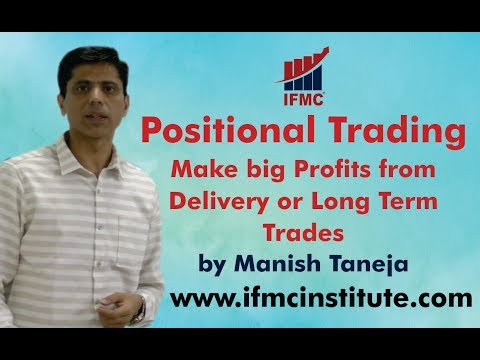 Positional Trading ll Make big profits from delivery or long term Trades ll