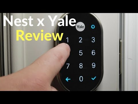 Nest x Yale Lock Review, Set up, Pros & Cons - YouTube