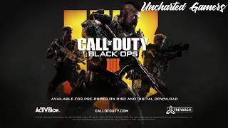 Call of Duty:  Black Ops 4 -- Multiplayer Reveal Trailer | Uncharted Gamers