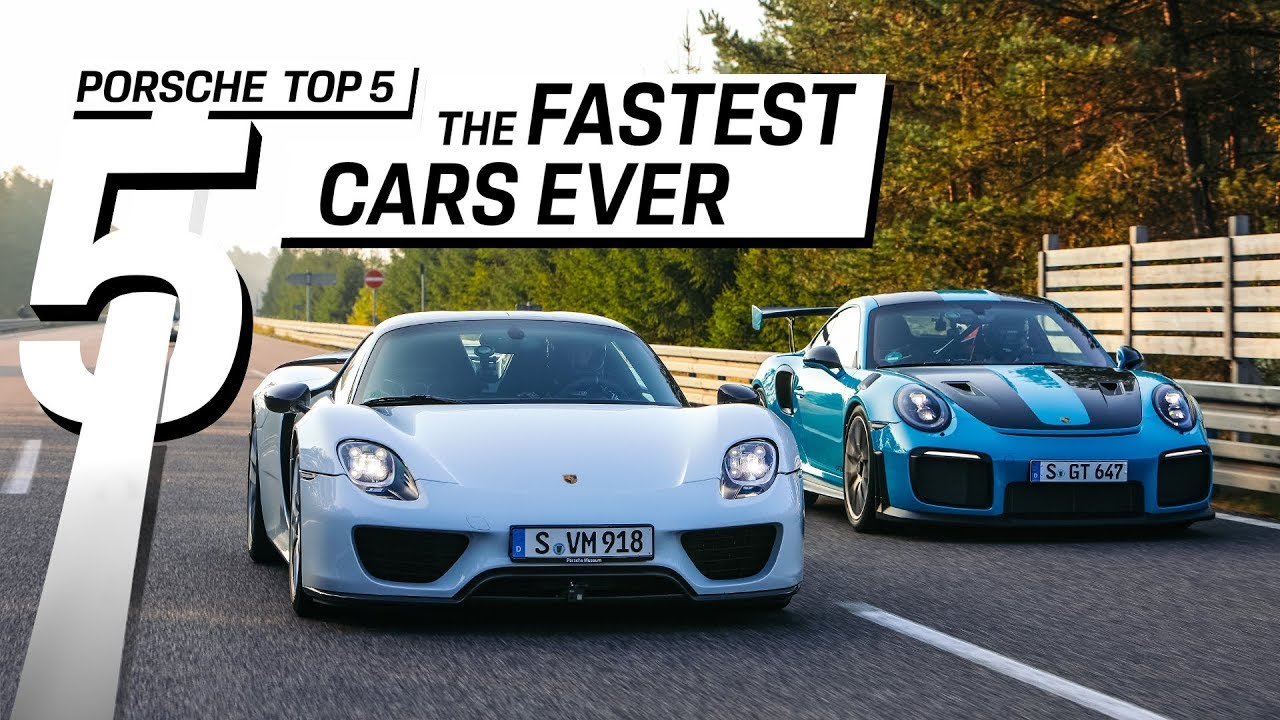 Porsche Top  Series The Fastest Street Legal Cars