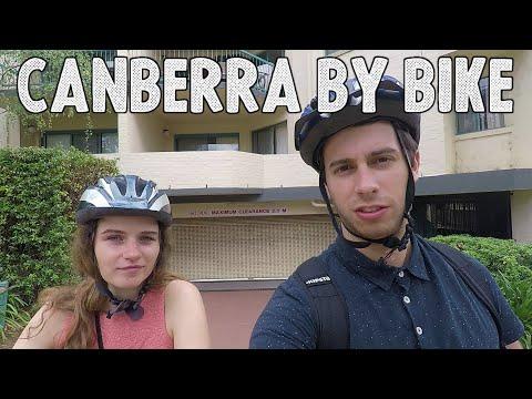 Exploring Canberra by bike | Roadtrip part 2