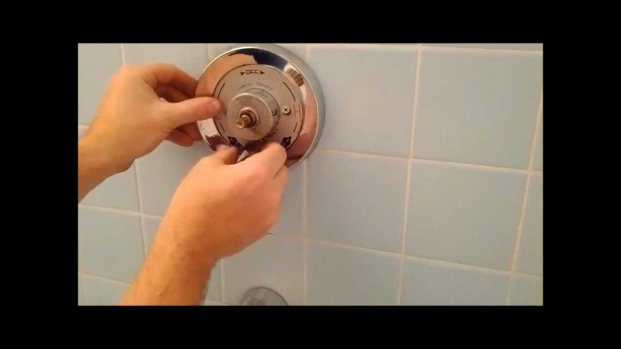 How To Replace A Symmons Shower/ Tub Spindle And Diverter - YouTube