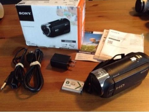 Sony Handycam HDR-CX240 - Reviewed Camcorders