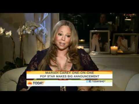 Mariah Carey Announces She is Pregnant!
