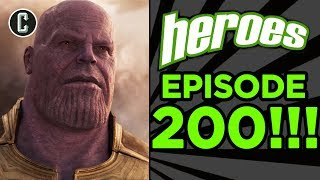 Avengers Infinity War Trailer: Did They Reveal Too Much? - Heroes: Giant Sized 200th Episode
