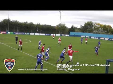 Sports Recruiting USA Academy Leeds U19's vs FC United of Manchester U19's