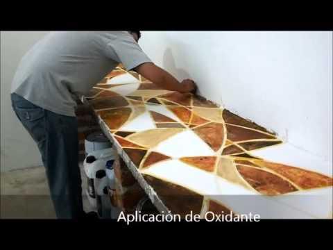 Aplicacion de oxidante en barra de concreto youtube for Aplicacion para disenar cocinas